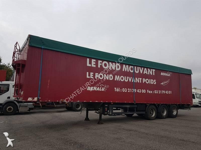 Benalu FOND MOUVANT BENALU 90m3 semi-trailer