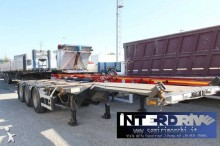 D-TEC semirimorchio allungabile portacontainer usato semi-trailer