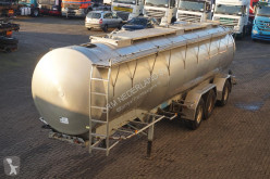 n/a Tank alu 33.225LTR 3-assig 1-compartiment semi-trailer