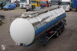 semirimorchio Van Hool Tank RVS 28.000LTR 3-assig liftas