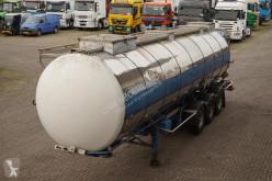 semi remorque Van Hool Tank RVS 28.000LTR 3-assig ADR