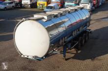 semirimorchio Van Hool Tank RVS 31.000LTR 3-assig liftas