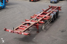 semi reboque Renders Container chassis 3-assig 20,2x20,30,40ft