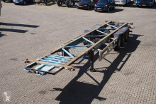 semirimorchio Van Hool Container chassis 3-assig/40ft
