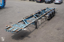 Van Hool Container chassis 3-assig/40ft semi-trailer