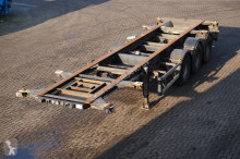 semirimorchio Stevens Container chassis 3-assig/30,20ft/liftas
