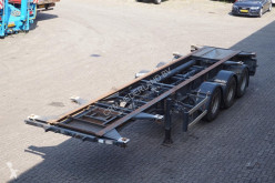 semi remorque Stevens Container chassis 3-assig/30,20ft/ liftas