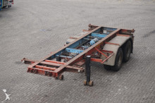 semi remorque Van Hool Container chassis 2-assig/20ft/full steel