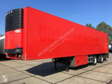 Floor mono temperature refrigerated semi-trailer