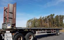 semi remorque Dinkel DLSAV 10000 18 Tonnen Lenk Achse Holz 12,3 m TOP ZUSTAND
