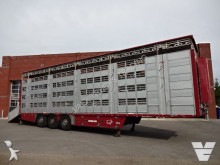semi reboque Pezzaioli SBA63U 4 Stock trailer