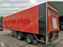 semi remorque Fruehauf ONCRS 32-220 A / CLOSED BOX / LOAD-LIFT / STEERING AXLE