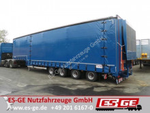 used heavy equipment transport semi-trailer