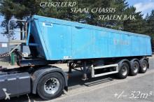 MOL BPW - STEEL CHASSIS / STEEL TIPPER - ISOLATED TIPPER - AIR SUSPENSION semi-trailer