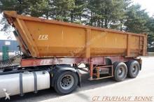 Fruehauf 2-ESS BENNE - SUSP LAMES - BENNE ACIER / CHASSIS ACIER - BONNE ETAT semi-trailer