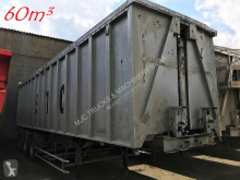 trailer Benalu 60m³ VOLUME KIPPER - *SCHADEN / DAMAGED / ACCIDENTEE *