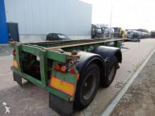 semi remorque Pacton 20 FT chassis / Steel suspension / BPW axles