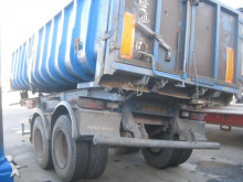 damaged tipper semi-trailer