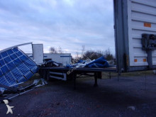 damaged tautliner semi-trailer