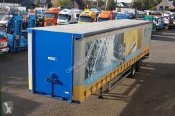 Vogelzang Schuifzeil met vast dak 2-assig semi-trailer
