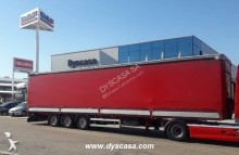 Leciñena tautliner semi-trailer