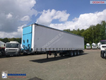 semirimorchio Kaiser Curtain side trailer 92 m3 / lift axle