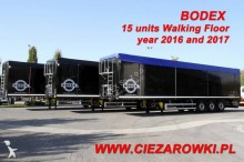 semi remorque Bodex WALKING FLOOR BODEX KIS3B 15 UNITS!