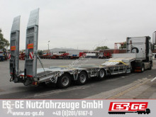 Humbaur heavy equipment transport semi-trailer
