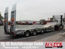 Humbaur 3-Achs-Satteltieflader mit Radmulden heavy equipment transport