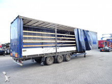 Krone MEGA, Bordwandsider, Hubdach, Scheibebremsen semi-trailer