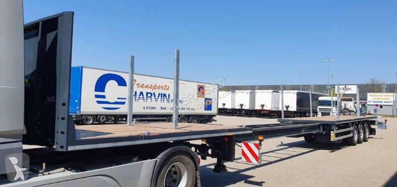 Semi remorque Lecitrailer Plateau Extensible 20.50m - Porte containers - DISPONIBLE