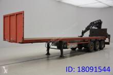 ATM Plateau + kraan semi-trailer