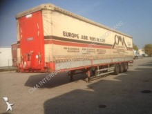 Coder reel carrier tautliner semi-trailer