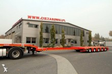 Nooteboom OSD 5 AXLE SEMI TRAILER LOW LOADER NOOTEBOOM OSD-68-05V HYDR. SUSP. heavy equipment transport