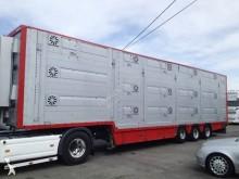 Pezzaioli 3 étages - 3 compartiments - palettisable semi-trailer