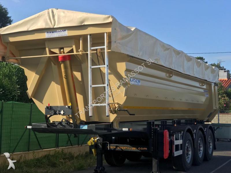 K.A. BAÑERA HARDOX 450 FONDOS 5MM LATERAL 4MM EJES SAF hydraulica Auflieger