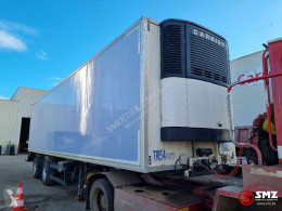 semi remorque Krone Oplegger +frigo turn axles