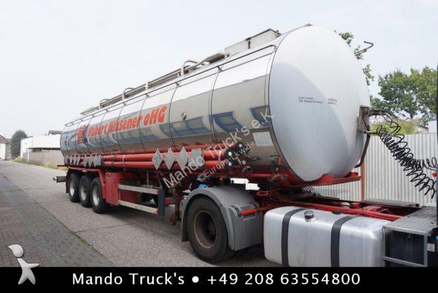 Semi remorque Hendricks Goch, Chemietankfahrzeug 22.500l