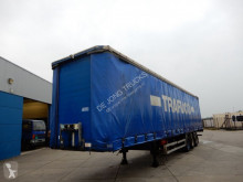 semi remorque Tirsan Curtain sider / Joloda floor / SAF DISC / Lift axle