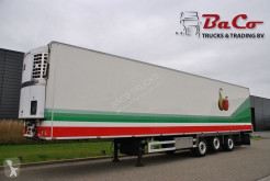 semirimorchio Jumbo CHEREAU 270 CM HIGH - SAF AXLES - 1 LIFT AXLE - STEERING AXLE + THERMO KING SPECTRUM - EXCELLENT CONDITION -