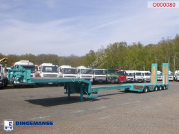 Nooteboom Semi-lowbed trailer extendable 15.6 m + ramps semi-trailer