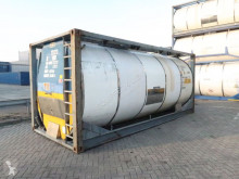 semirimorchio Van Hool 23.000L, 20FT Tankcontainer, UN Port. T12