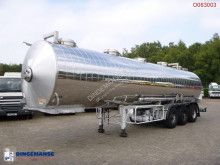 trailer Maisonneuve Chemical tank inox 32.5 m3 / 1 comp