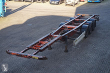 semi remorque Krone Container chassis 3-assig/40,45ft