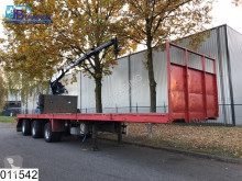 trailer Floor open laadbak 47000 kg, Kennis 14000 R crane, Rotator