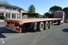 Fruehauf Fruehauf plateau 3 essieux occasion semi-trailer