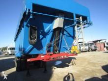Voltrailer construction dump semi-trailer