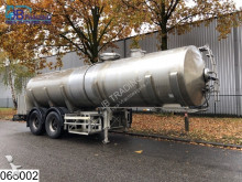 semirremolque Maisonneuve Food 25000 Liter, RVS Milk tank, food, Isolated, Levensmiddelen, Lebensmittel, Nourriture, Comida,