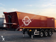 semi remorque Wielton BODEX/TIPPER 42 M3/LIFTED AXLE/FLAP-DOORS/5800KG