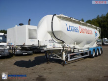 Feldbinder Bulk tank alu 50 m3 + engine/compressor semi-trailer